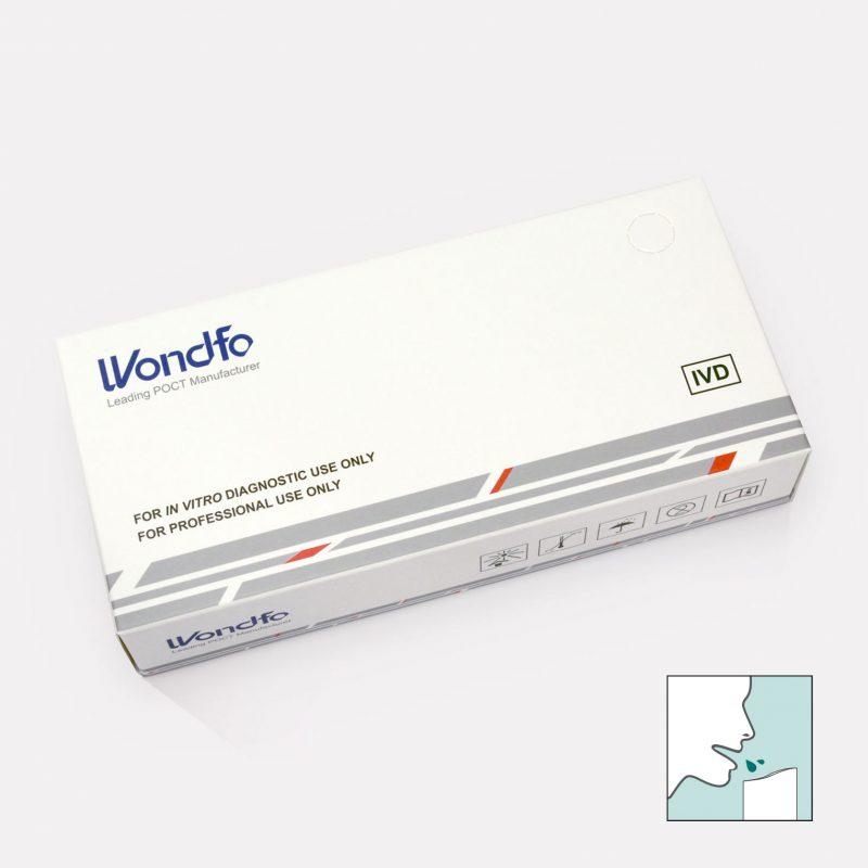Wondfo Antigen-Test Spuck/Speicheltest